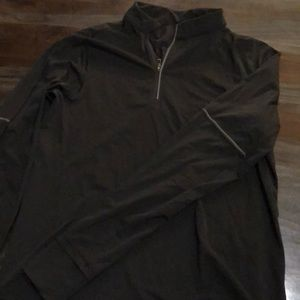 Lululemon reflective black jacket pullover